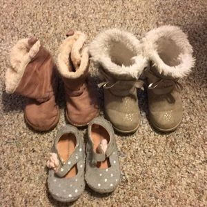 Other - Baby girl shoes 3 pair